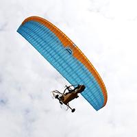 Полеты на паралете, дельталете и легком самолете в Москве