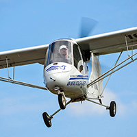 Полеты на легком самолете