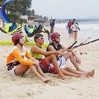 Кайтсерфинг в Тайланде